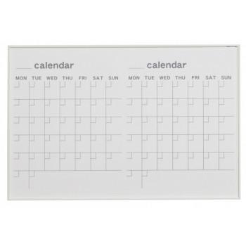 おしゃれ 会社 便利馬印 MR series(エムアールシリーズ)壁掛 予定表(カレンダー)ホワイトボード W910×H610mm MR23W【送料無料】
