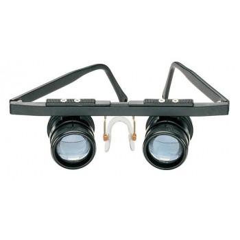 虫眼鏡 青レンズ 眼鏡型エッシェンバッハ 双眼ルーペ テレ・メッド(遠眼) (3倍) 1634【送料無料】
