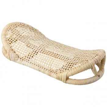 当店限定販売 頭や首に優しくフィットする眠りやすい安定感のある形状 籐枕 R1C4 3282-496 送料無料 買収