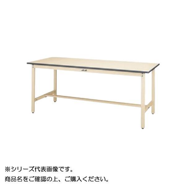 SWR-1575-II+D1-IV ワークテーブル 300シリーズ 固定(H740mm)(1段(深型W500mm)キャビネット付き)【送料無料】
