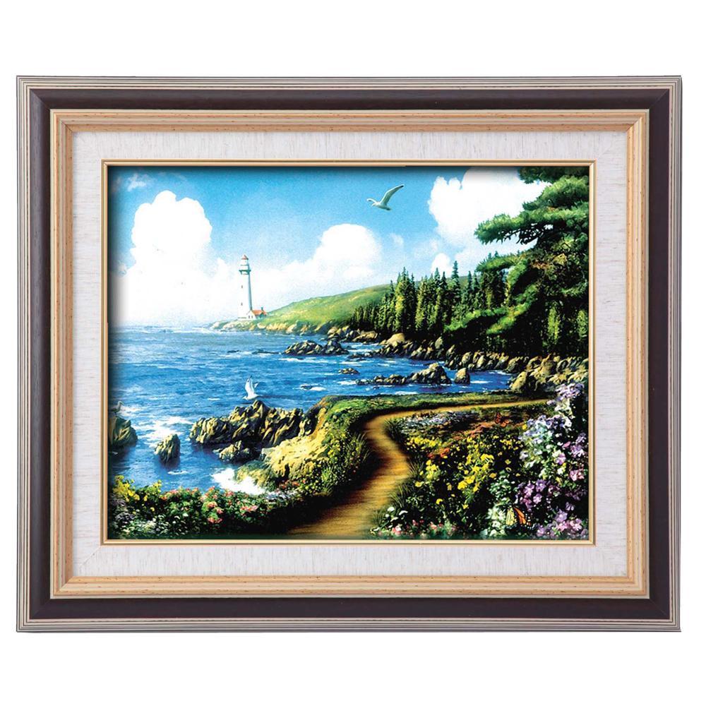 アラン・ギアナ絵画額9573 F6 運命の岬 117249【送料無料】