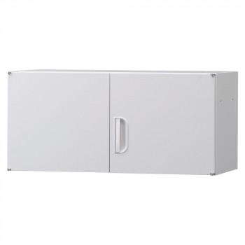 豊國工業 壁面収納庫深型上置き棚H420 ホワイト HOS-U3 BN-90色(ホワイト)【送料無料】