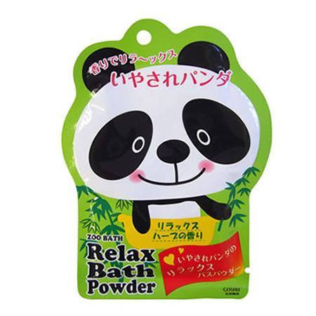 五洲薬品 入浴用化粧品 ズーバス パンダ バスパウダー (50g×10包)×12箱(120包入り) ZOR-20【送料無料】