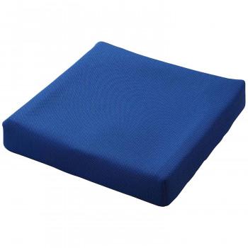 ピタ・シートクッション70 通気カバータイプ 立体格子状ジェル 柔らかさ重視 車いす 運転座席 ブルー PT003B【送料無料】