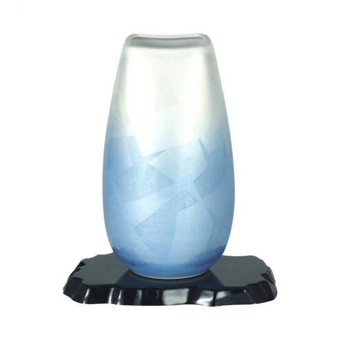 九谷焼 宗秀作 9号花瓶 二色銀彩 N169-09【送料無料】