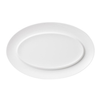 NIKKO ニッコー 36cm楕円シーフード皿 EXQUISITE 11700-4291H【送料無料】