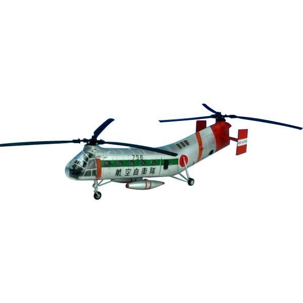 フライングバナナ 模型 リアルKBウィングス(PCT) H-21B 航空自衛隊 救難航空隊 1/72スケール KBW72104【送料無料】