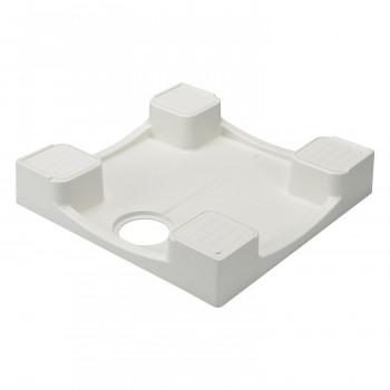排水溝のお手入れなどに便利なかさ上げタイプ セットアップ テクノテック 洗濯機用かさ上げ防水パン メイルオーダー イージーパン 送料無料 TPD640-CW2 ニューホワイト