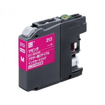 写真やはがき印刷にも 買い取り エコリカECI-BR213Mリサイクルインクマゼンタ9858840 大決算セール 送料無料
