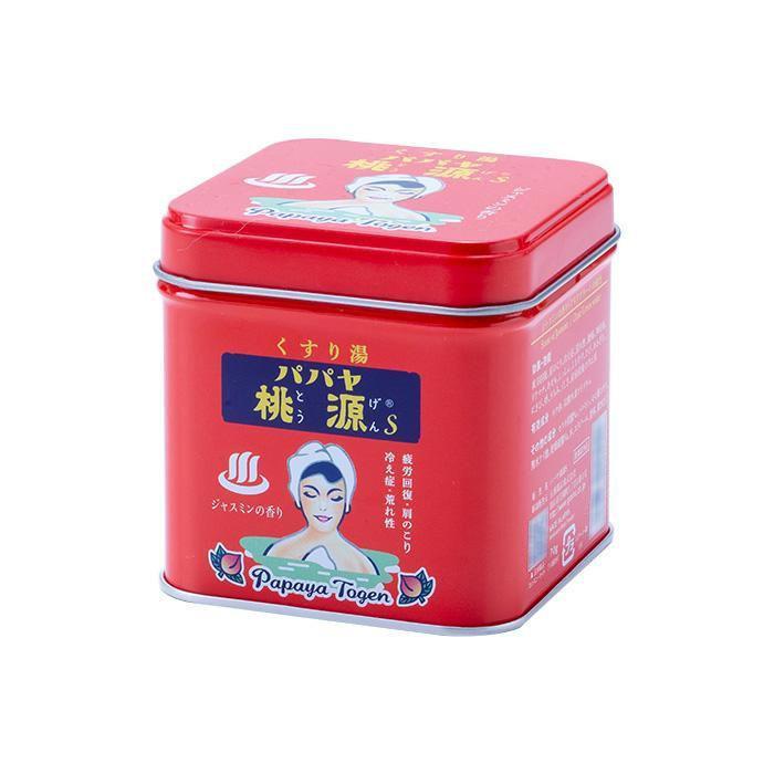 五洲薬品 薬用入浴剤(医薬部外品) パパヤ桃源S ジャスミンの香り 70g缶×40個【送料無料】