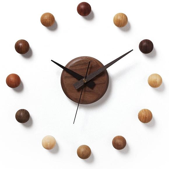 벽 걸이 시계 벽 시계 천연 나무 목 제 단단한 리빙 핸드메이드 심플 로비 진료소 대기실 회사 사무실 「 위성 시계 」 (DP-SATE)