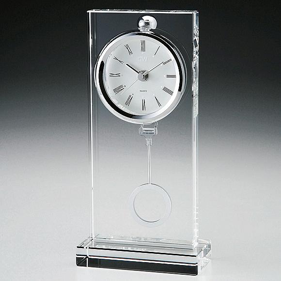 【ポイントアップ中&割引クーポン配布中】【 送料無料 】ガラス振り子置き時計「ウインドウ」ペンデュラム (NSGW1000-11036)