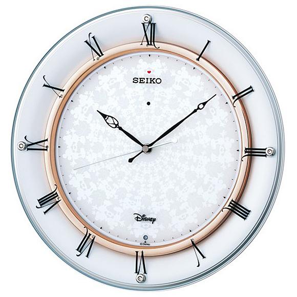 【 送料無料 】SEIKO(セイコー) キャラクター時計 掛け時計 電波時計 アナログ 大人ディズニー FS501W