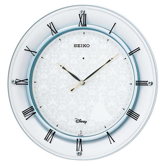【 送料無料 】SEIKO(セイコー) キャラクター時計 掛け時計 電波時計 アナログ 大人ディズニー FS503W