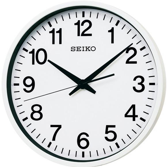 【 送料無料 】SEIKO(セイコー) 掛け時計 衛星電波時計 GP201W