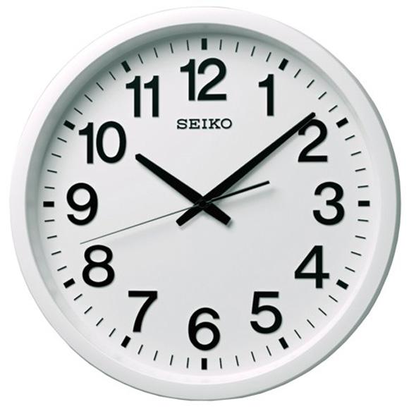 【 送料無料 】SEIKO(セイコー) 掛け時計 衛星電波時計 GP202W