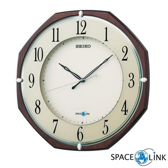 SEIKO(セイコー)掛け時計 衛星電波時計 スペースリンク GP207B (SKGP207B)