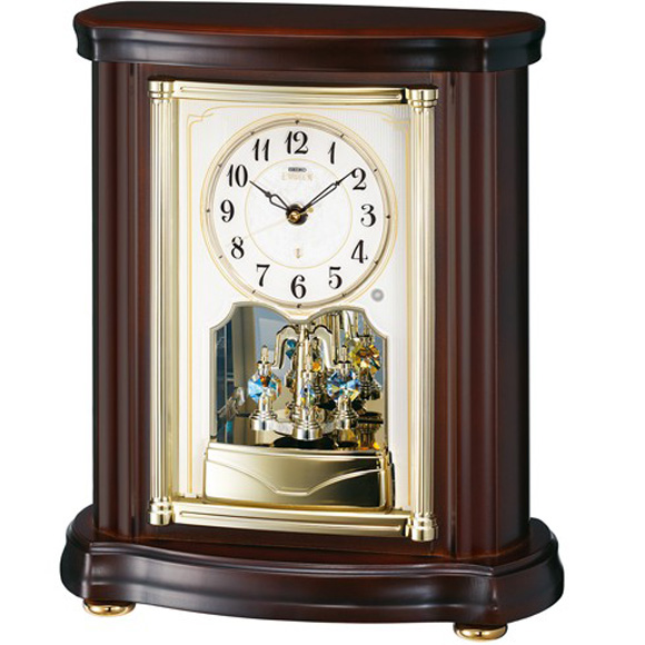 【 送料無料 】SEIKO(セイコー) 置き時計 EMBLEM HW581B