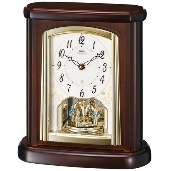 【 送料無料 】SEIKO(セイコー) 置き時計 EMBLEM HW582B