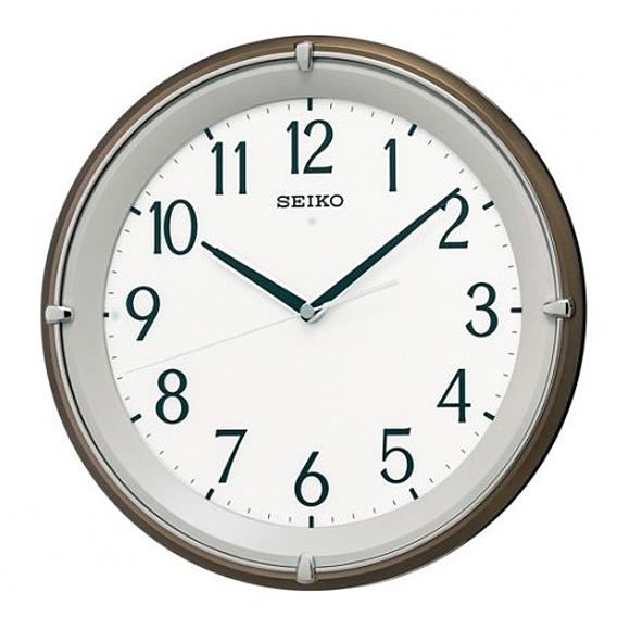 【 送料無料 】SEIKO(セイコー) 掛け時計 電波時計 アナログ 文字盤自動点灯 KX203B