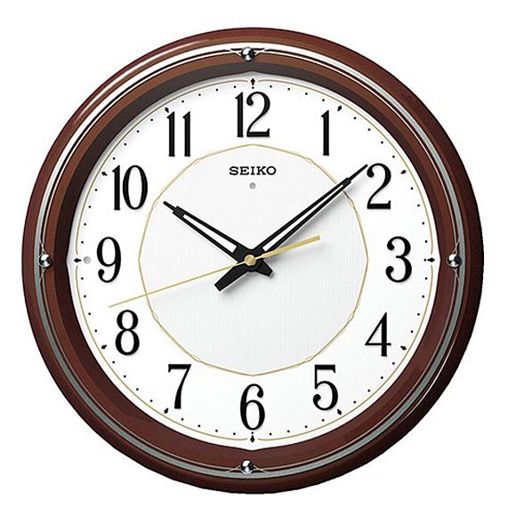 【ポイントアップ中&割引クーポン配布中】【 送料無料 】SEIKO(セイコー) 掛け時計 電波時計 アナログ 夜でも見える KX396B