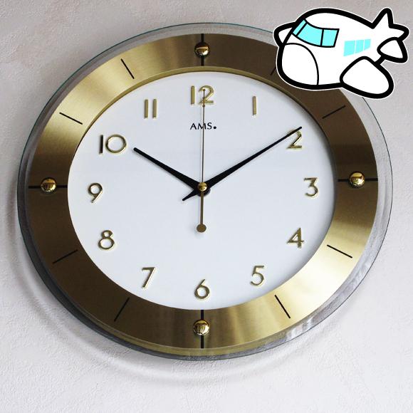 AMS社 掛け時計 ドイツ製 9450 27%OFF 納期1ヶ月程度 (YM-AMS9450)