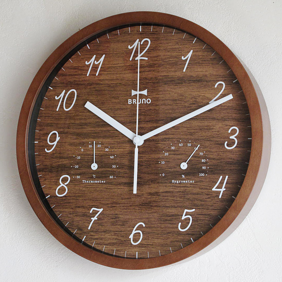 Interior shop amon Rakuten Global Market Wall clock wooden