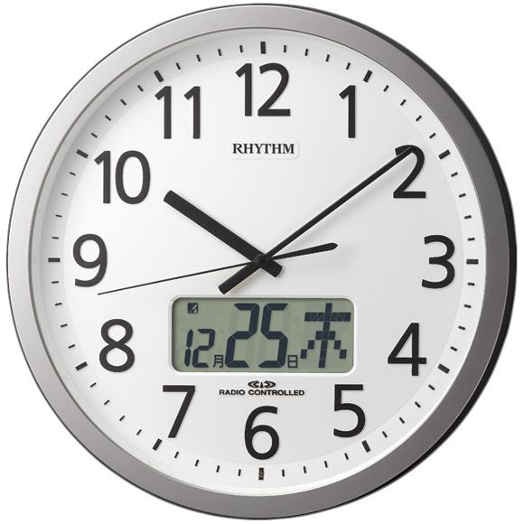 シチズン CITIZEN 掛け時計 アナログ プログラムカレンダー405R (4FN405SR19) 特価25%OFF