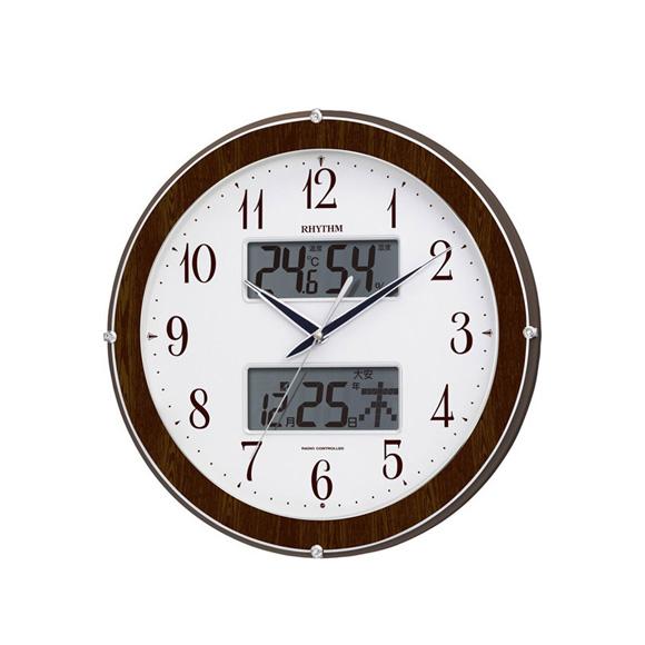 シチズン CITIZEN 掛け時計 アナログ 温湿度計 ピュアカレンダー622 (4FY622SR23) 特価25%OFF
