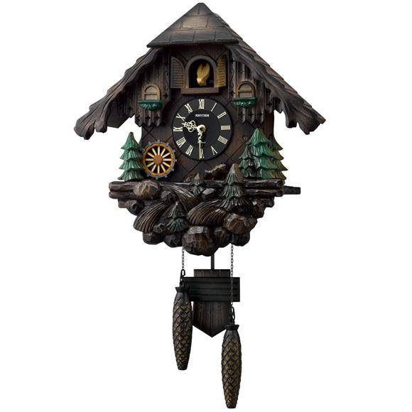 シチズン CITIZEN 掛け時計 アナログ 鳩時計 振り子時計 カッコーヴァルト (4MJ422SR06) 特価25%OFF