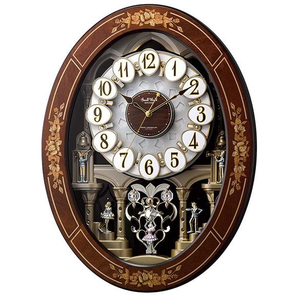 シチズン CITIZEN からくり時計 Small World アナログ 高級象嵌細工 スモールワールド レガロ (4MN546RH06) 特価25%OFF