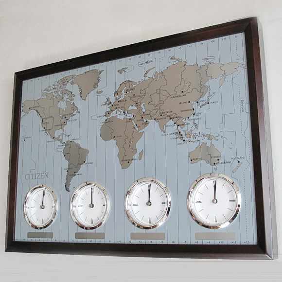 Interior shop a mon rakuten global market citizen citizen wall citizen citizen wall clock world where four countries world watches ry 4mwa01 006 t gumiabroncs Image collections