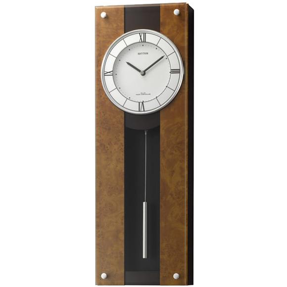 シチズン CITIZEN 掛け時計 振り子時計 アナログ モダンライフM01 (4MXA01RH06) 特価25%OFF