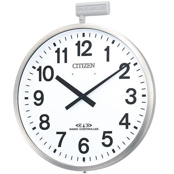 シチズン CITIZEN 掛け時計 システムクロック アナログ ポールウェーブSF (4MY611-N19) 特価25%OFF