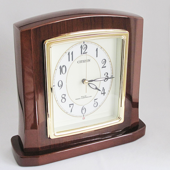 【 SALE在庫限り30%OFF 】CITIZEN シチズン パルロワイエR 高級電波時計 置き時計 (RY-8RY406-006)【10P05Nov16】