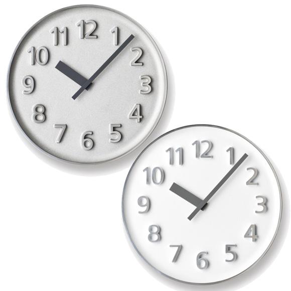 Lemnos レムノス 掛け時計 アナログ 「ファウンダークロック」 (KK15-08)