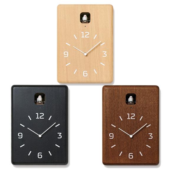 Lemnos レムノス 掛け時計 からくり時計 アナログ 掛置兼用 CUCU クク (LC10-16)