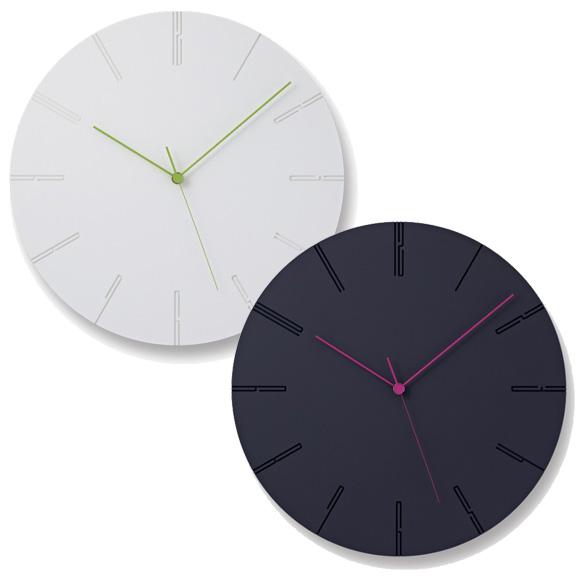 Lemnos レムノス 掛け時計 アナログ スイープムーブメント 「カーヴド」 (NTL13-10)