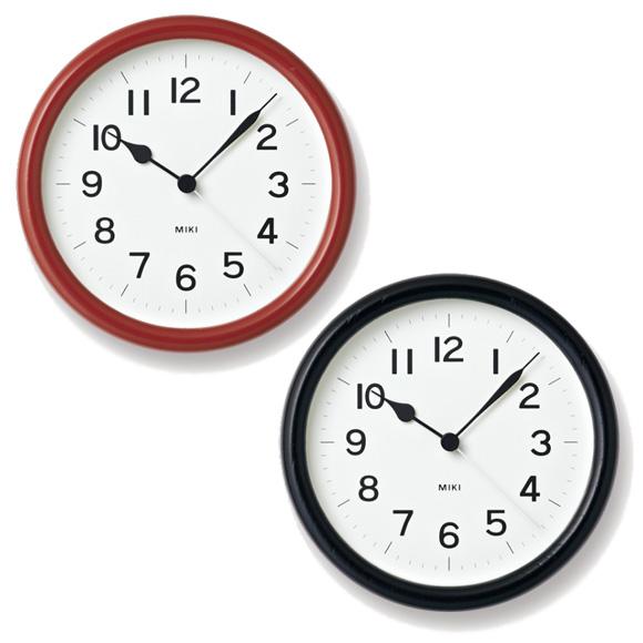 Lemnos レムノス 置き時計 アナログ スイープムーブメント 「MIKI」 (NY14-03)