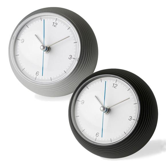 Lemnos レムノス 置き時計 アナログ スイープムーブメント 「アースクロック」 (TIL16-10)