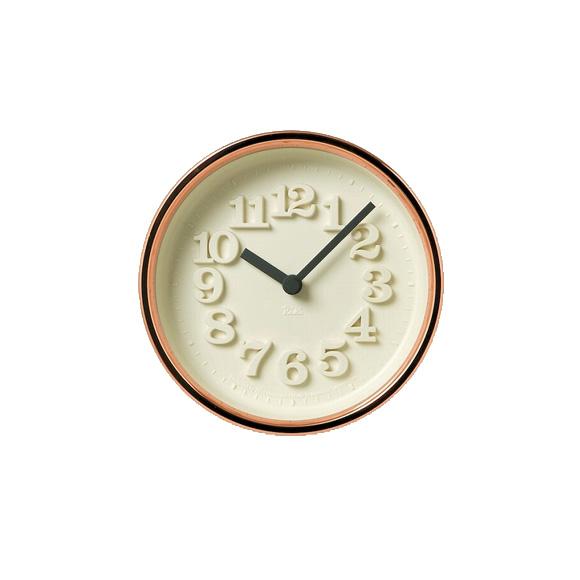Lemnos レムノス 掛け時計 アナログ 小さな時計 銅 渡辺力 掛置兼用(WR11-05)