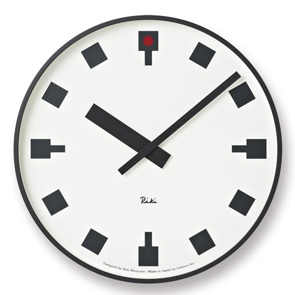 掛け時計 アナログ 「日比谷の時計」 渡辺力デザイン(WR12-03)
