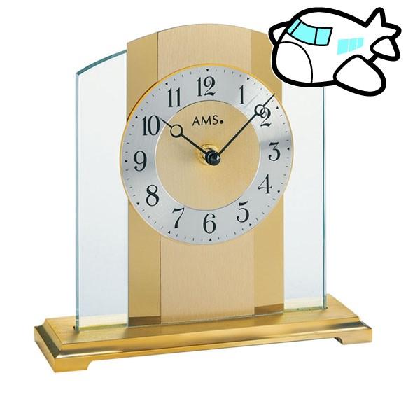 AMS 置き時計 置時計 ゴールド おしゃれ ドイツ製 AMS1119 30%OFF 納期1~2ヶ月 (YM-AMS1119)