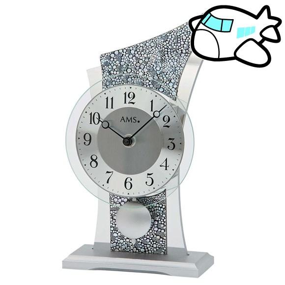 AMS 置き時計 振り子時計 アナログ おしゃれ 置時計 ドイツ製 AMS1136 納期1ヶ月程度 (YM-AMS1136)