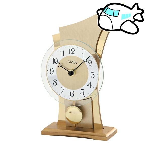 AMS 置き時計 振り子時計 置時計 ゴールド ドイツ製 AMS1137 納期1ヶ月程度 (YM-AMS1137)