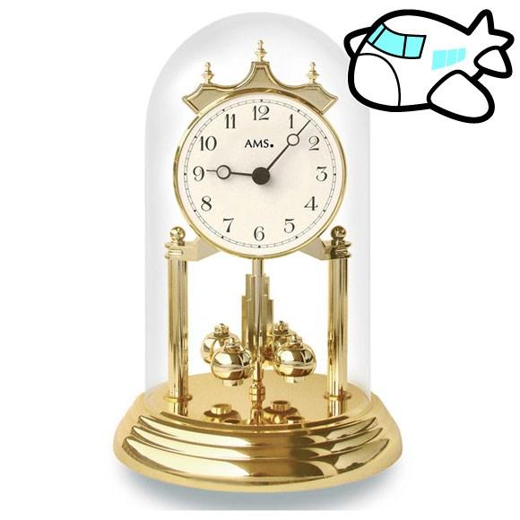 AMS 置き時計 置時計 アナログ ゴールド ドイツ製 AMS1201 納期1ヶ月程度 (YM-AMS1201)