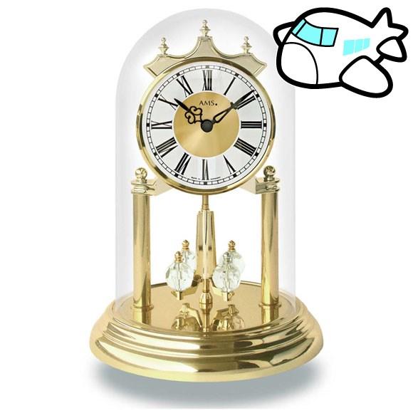 AMS 置き時計 置時計 アナログ ゴールド ドイツ製 AMS1202 納期1ヶ月程度 (YM-AMS1202)