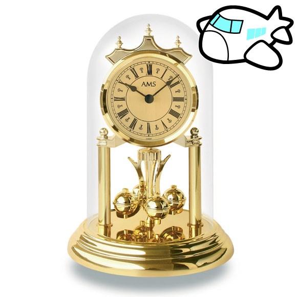 AMS 置き時計 置時計 アナログ ゴールド ドイツ製 AMS1203 納期1ヶ月程度 (YM-AMS1203)