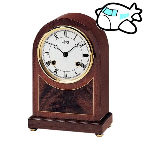 【ポイントアップ中&割引クーポン配布中】AMS 置き時計 置時計 機械式置き時計 アナログ アンティーク ドイツ製 AMS154-8 納期1ヶ月程度 (YM-AMS154-8)