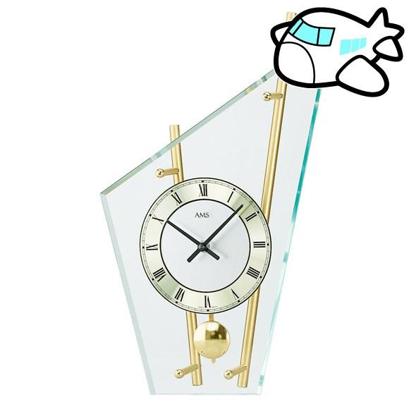 AMS 置き時計 振り子時計 置時計 ゴールド ドイツ製 AMS155 納期1ヶ月程度 (YM-AMS155)
